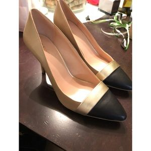 Sole Society Pointed Cap Toe Heels